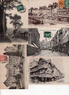 Lot De 50 Cartes Postales Anciennes Calvados Département 14 : Lisieux - Cartes Postales