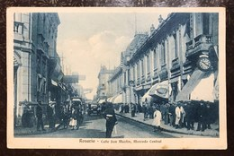 Rosario Calle San Martin Mercado Central Molto Animata Non Viaggiata Ma Scritta Cod.bu.147 - Argentina