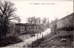 FR-55: VERDUN: Entrée De La Citadelle - Guerra 1914-18