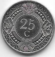 *netherlands Antilles  25  Cents  1992  Km 35    Bu - Netherland Antilles