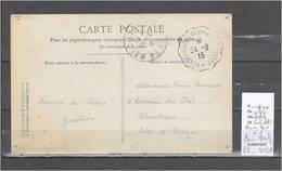Lettres  Cachet  Convoyeur Rennes Gare à Paris Montparnasse - Indice 6 - Bahnpost
