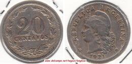 Argentina 20 Centavos 1921 KM#36 - Used - Argentina