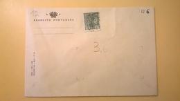 BUSTA NON VIAGGIATA MINISTERO DELLA DIFESA EXERCITO PORTUGUES ESERCITO PORTOGHESE BOLLO 1910 RE MANUEL II - Lettere