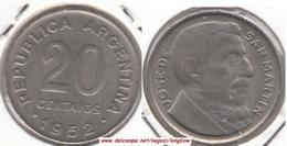 Argentina 20 Centavos 1952 KM#48 - Used - Argentina