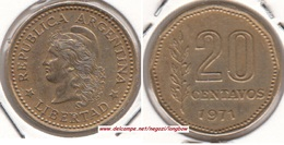 Argentina 20 Centavos 1971 KM#67 - Used - Argentine