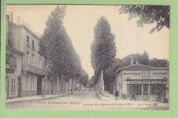 VITRY LE FRANCOIS : Avenue Du Lieutenant Colonel Moll, Restaurant Neurlaut. 2 Scans. Edition BF - Vitry-le-François