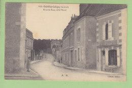 CHATILLON COLIGNY : Grande Rue Côté Nord. TBE. 2 Scans. Edition Chênet - Chatillon Coligny