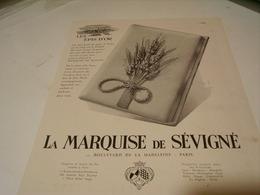 ANCIENNE PUBLICITE LES EPIS D OR LA MARQUISE DE SEVIGNE 1941 - Posters