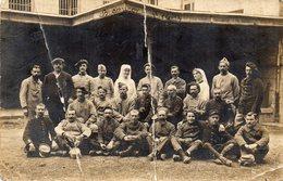 MILITARIA - Carte - Photo -  BESANCON  -  Hopital Militaire ( Ranieau Ou Rameau Louis ? )  Photo Trés Abimée... - Krieg, Militär