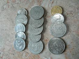 Lot 14 Coins Africa Countries - Kilowaar - Munten