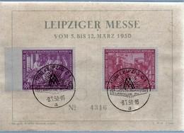 Messekarte März 1950 - DDR