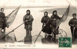 CALAIS PECHEURS DE CREVETTES - Calais