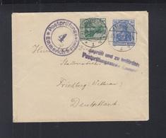 Brief 1918 Emmerich Postprüfungsstelle Nach Friedberg - Deutschland