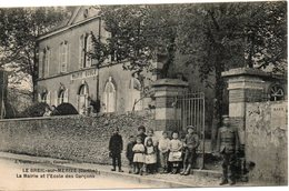 LE BREIL Sur MERIZE La Mairie Et L Ecole Des Garcons - France