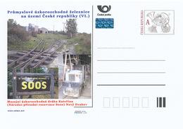 Rep. Ceca / Cart. Postali (Pre2015/31) Ferrovie A Scartamento Ridotto (VI) Catherine, Riserva Naturale Nazionale SOOS(3) - Altri