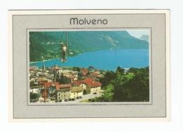 Molveno, Veduta Con Cabinovia Del Pradel - Trento