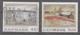 Serie De Dinamarca Nº Yvert 935/36 O - Dinamarca