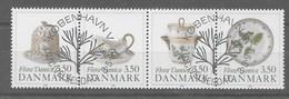 Serie De Dinamarca Nº Yvert 980/83 O - Dinamarca