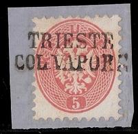 """Ausg. 1864, Schiffspost """" Triest """" ,  #a1023 - Oblitérés"""
