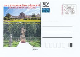 Rep. Ceca / Cart. Postali (Pre2015/33) Giornate Europee Del Patrimonio; Ospedale Kuks (scultore Matthias Braun) - Beroemde Personen