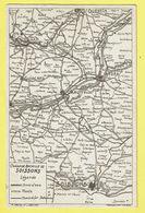 * Soissons (Dép 02 - Aisne - France) * (H. Derchy Et J. Delcroix) Champ De Bataille De Soissons, St Quentin, Noyon, Rare - Soissons