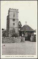 Church Of St John The Baptist, Yarcombe, Devon, C.1960 - RP Postcard - England