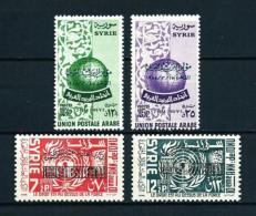 Siria  Nº Yvert  78/9-83/4 (sobrecarga)  En Nuevo - Siria