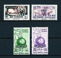 Siria  Nº Yvert  69/70-71/2  En Nuevo - Siria