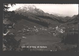 Lech - Lech Am Arlberg Mit Karhorn - 1954 - Photo Schmidt - Lech