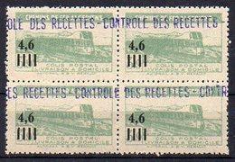 Algérie Colis-Postaux N° 132 Neuf ** En Bloc De 4 - Cote +72€ - Parcel Post