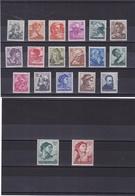 ITALIE 1961 Oeuvres De Michel-Ange Yvert 826-844 NEUF** MNH - 1946-.. République
