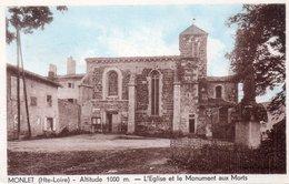 """MONLET  """"L'église """" - France"""