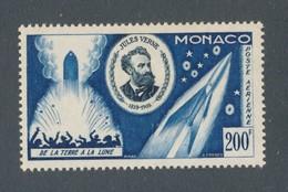 MONACO - POSTE AERIENNE N°YT 60 NEUF* AVEC CHARNIERE - COTE YT : 20€ - 1955 - Airmail