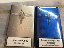 """PAQUETS DE CIGARETTES """"PHILIP MORRIS """" SILVER ET BLUE- PAQUETS SOUS BLISTER - Cigarettes - Accessoires"""