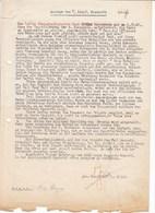"""WW2 WAFFEN SS - 29.WAFFEN GRENADIER DIVISION Der SS ITALIENISCHE Nr1 - Btl.""""NETTUNO"""" - AUSSAGE HSTUF.FISCHETTI - 1939-45"""