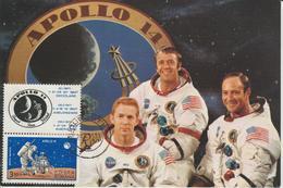 Carte Maximum Roumanie 1971 Apollo 14 PA 228 - Maximum Cards & Covers