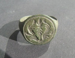 Ancient Medieval Bronze Ring - Archaeology