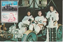 Carte Maximum Roumanie 1971 Apollo 15 PA 231 - Maximum Cards & Covers
