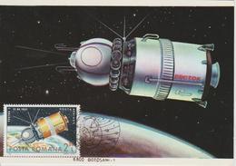 Carte Maximum Roumanie 1983 25 Ans D'Astronautique PA 290 - Maximum Cards & Covers