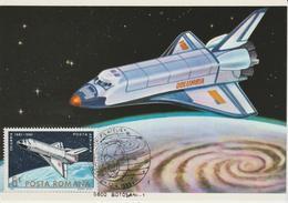 Carte Maximum Roumanie 1983 25 Ans D'Astronautique PA 292 - Maximum Cards & Covers