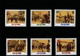 ISLE OF MAN - 1987  VICTORIAN DOUGLAS  SET  MINT NH - Isola Di Man