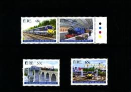 IRELAND/EIRE - 2005  DUBLIN-BELFAST RAILWAY  SET  MINT NH - 1949-... Repubblica D'Irlanda