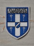 Ecusson à Coudre De Villeneuve-l'Archevêque (89) - Patches