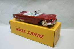 Dinky Toys / DeAgostini - CABRIOLET FORD THUNDERBIRD Rouge Réf. 555 Neuf NBO 1/43 - Dinky