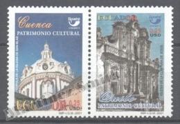 Equateur - Ecuador 2001 Yvert 1621B-21C, América UPAEP, Cultural Heritage - MNH - Equateur