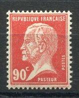 RC 10089 FRANCE N° 178 - PASTEUR 90c ROUGE NEUF ** TB MNH - France
