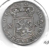 * Holland 10 Stuivers 1751 - [ 5] Monnaies Provinciales
