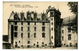 CPA 44 Loire Atlantique Nantes Le Château Le Grand Logis Et Le Donjon - Nantes