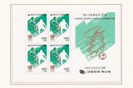 Korea 1988 Seoul Olympic Games  Souvenir Sheet MNH/**  (H41) - Sommer 1988: Seoul