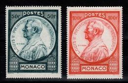 Monaco - YV 285 & 286 N** Cote 12 Euros - Monaco